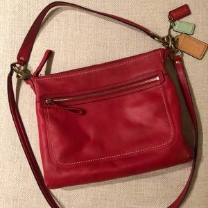 Coach Large Crossbody or Top Handle Leather Bag